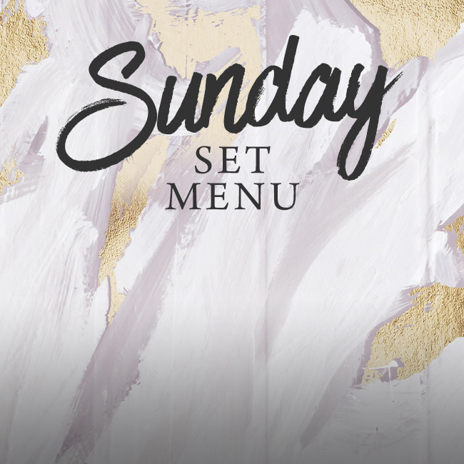 Sunday set menu at The Brampton Mill