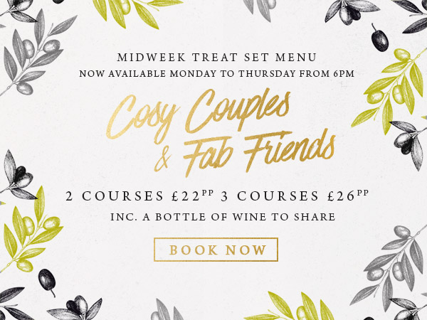 Midweek treat at The Brampton Mill - Book now